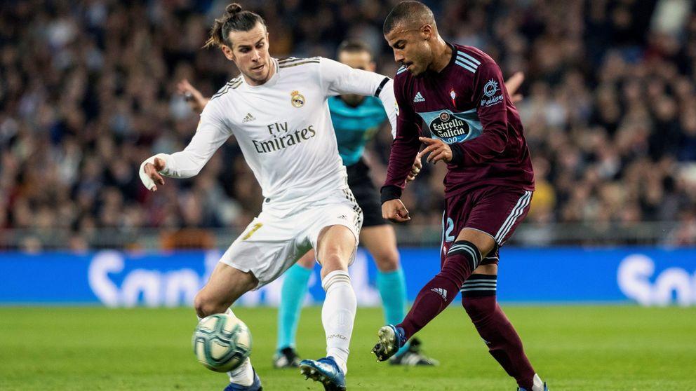 La agresividad de Gareth Bale en la entrada a Rafinha (emula a Fede Valverde)