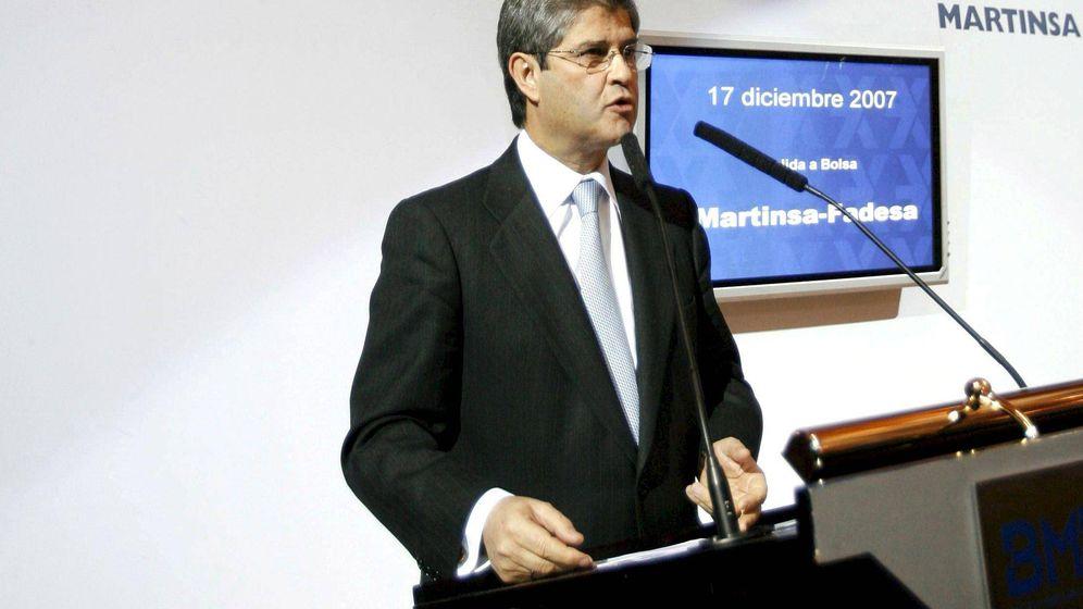 Foto: El presidente de Martinsa, Fernando Martín, compañía que pagó cerca de 20 millones a los gestores judiciales. (EFE)