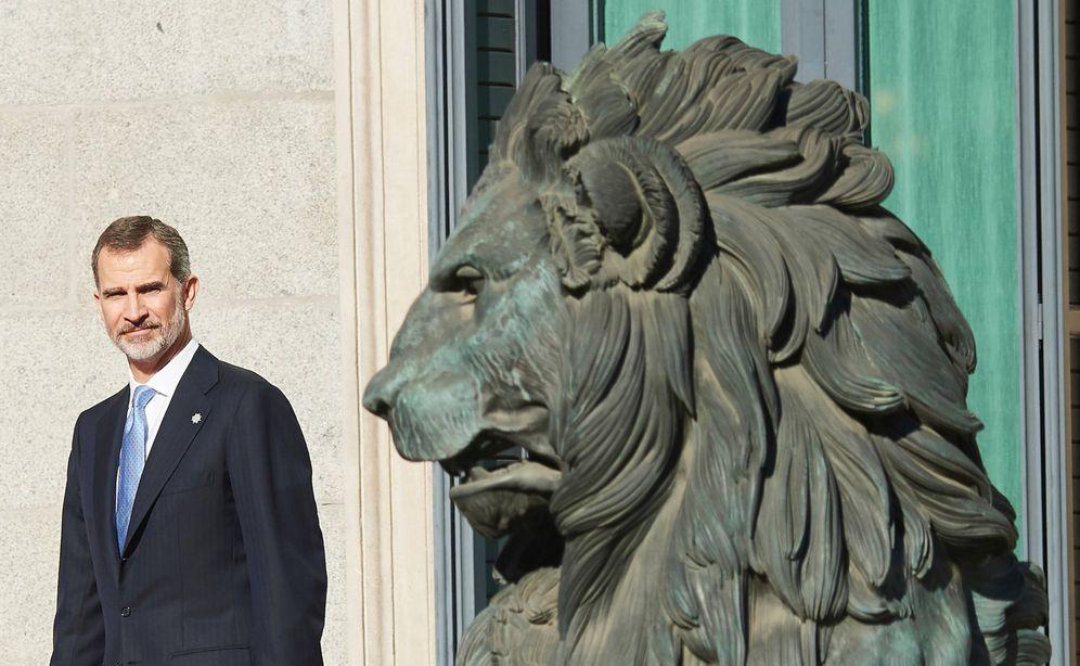 Foto: El rey Felipe, el día del 40 aniversario de la Constitución. (Limited Pictures)