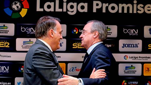 Tebas, muy duro con la Superliga: la califica de clandestina y señala a Florentino Pérez