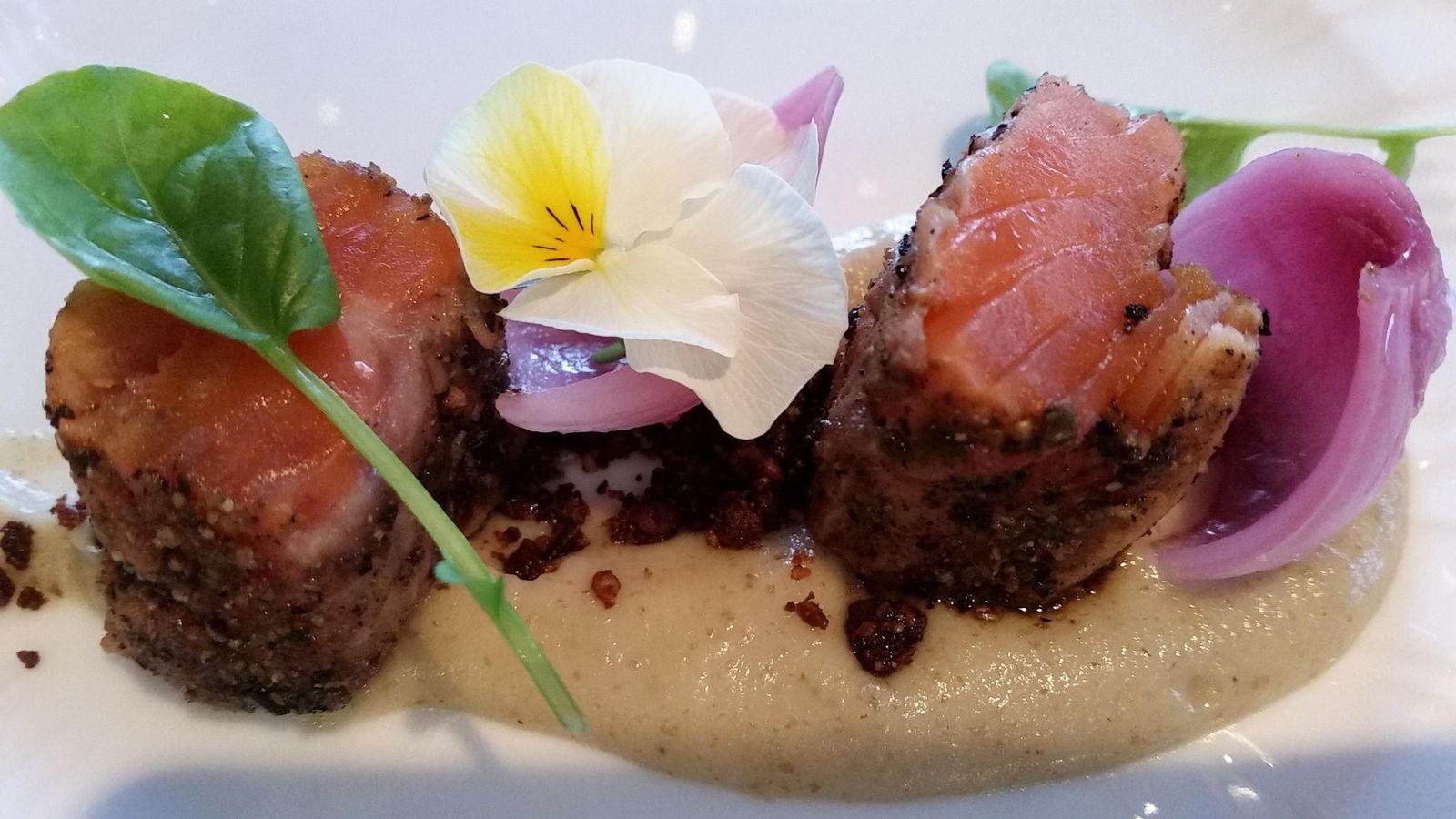 Foto: Sushi de trucha del mar de Noruega. Foto: Capriles