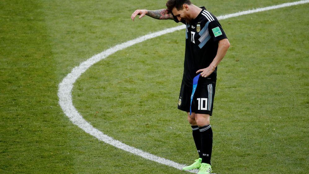 Foto: Messi no tuvo un buen debut en el Mundial de Rusia 2018. (Reuters)