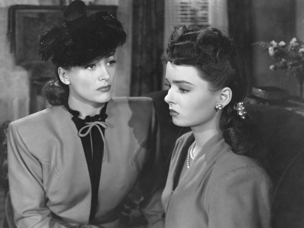 Foto: Joan Crawford y Ann Blyth, en 'Alma en suplicio'. (Cordon Press)