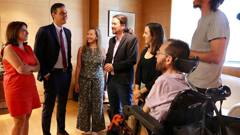 Sánchez solo preguntará a las bases si cierra una coalición con Podemos