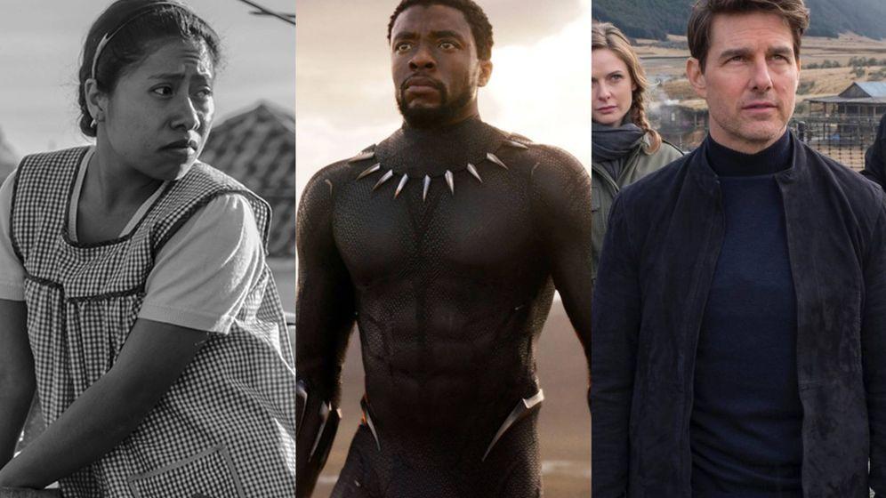 Foto: 'Roma', 'Black Panther' y 'Misión Imposible: Fallout', entre los títulos de las mejores películas de 2018