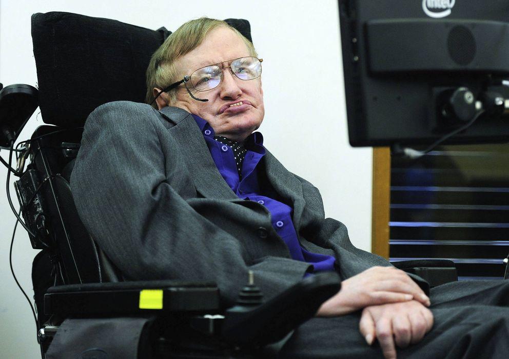 Foto: Stephen Hawking el pasado abril. (Efe)