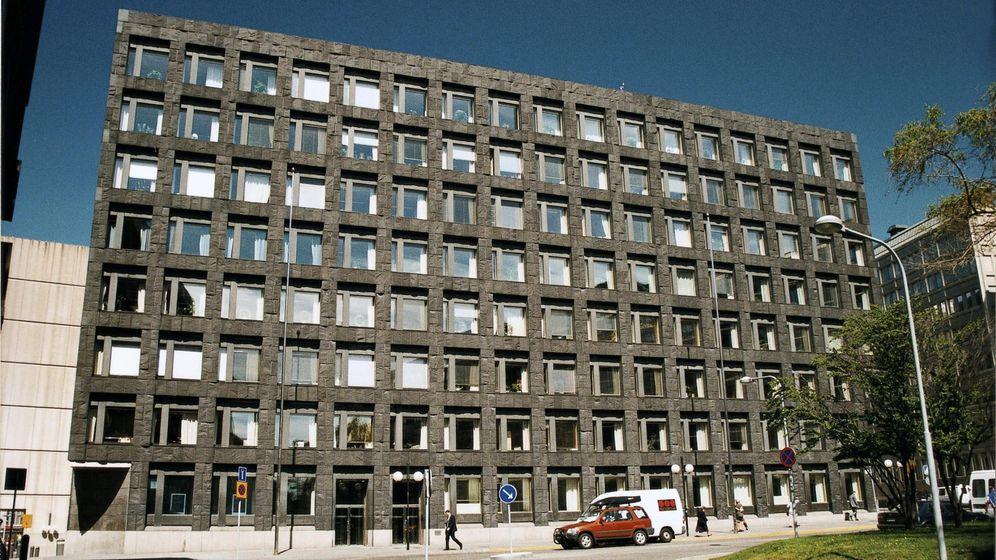 Foto: Banco Central de Suecia en Estocolmo. (EFE)