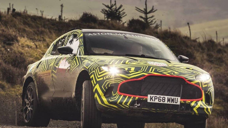 Las obras en Aston Martin para prepararse ante su revolucionario coche, el DBX
