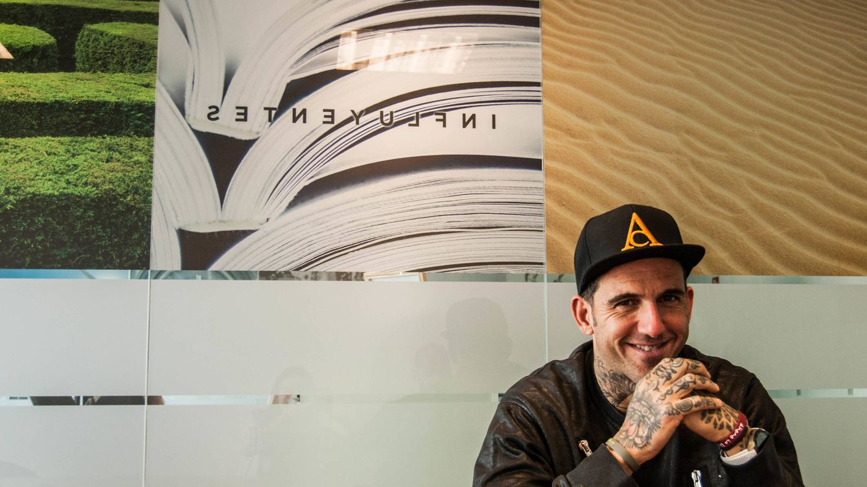 Foto: Josef Ajram. Uno de los 'Inconformistas' que nos visita. (Carmen Castellón)
