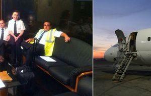 El avión de Swiftair, con siete españoles a bordo, se ha estrellado
