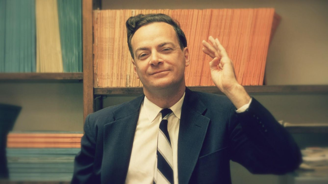 Foto: Richard Feynman. (Joe Mundoe)