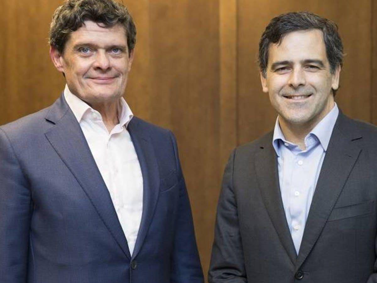 Foto: Jaime Echegoyen (i) y Javier García del Río, futuro CEO de Sareb. (Sareb)