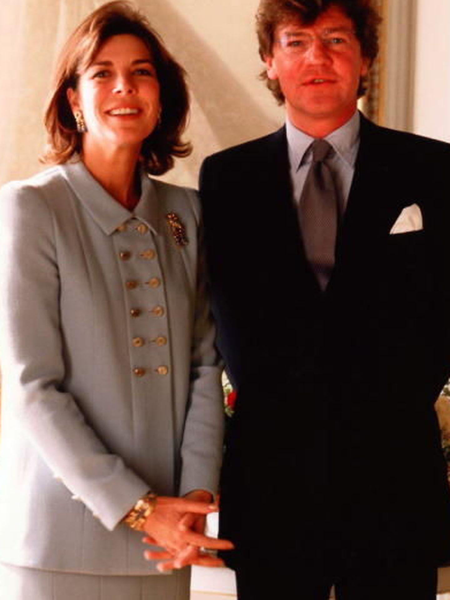 Boda de Ernesto de Hannover y Carolina de Mónaco. (Principado de Mónaco)