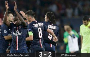 Los errores defensivos condenan al Barcelona contra el PSG