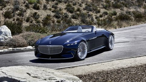 La fiesta continua en Pebble Beach con un espectacular Maybach descapotable