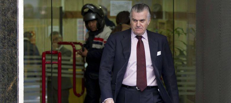 Foto: El extesorero y exsenador del Partido Popular Luis Bárcenas