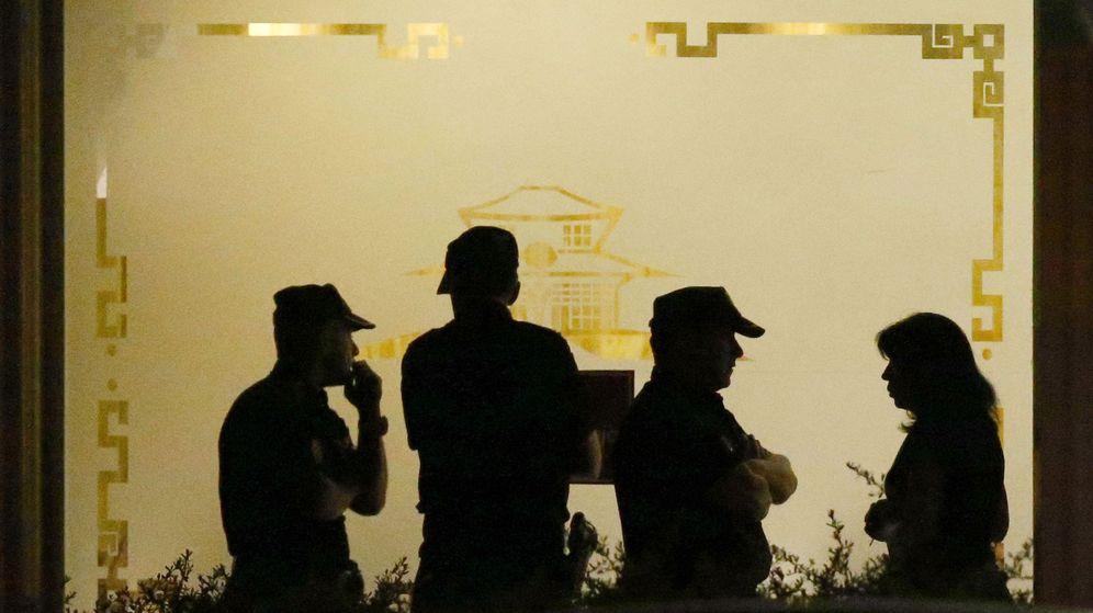 Foto: Un policía se atrincheró durante ocho horas en un restaurante de Alcobendas el pasado junio antes de quitarse la vida. (EFE)