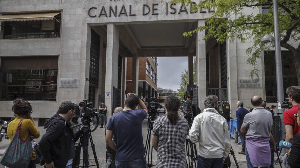 Foto: Sede central del Canal de Isabel II. (EFE)