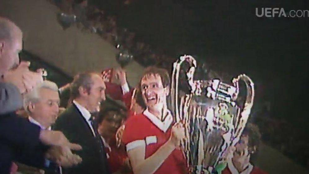 Foto: Final de la Champions de 1981, en la que el Liverpool ganó al Real Madrid | UEFA