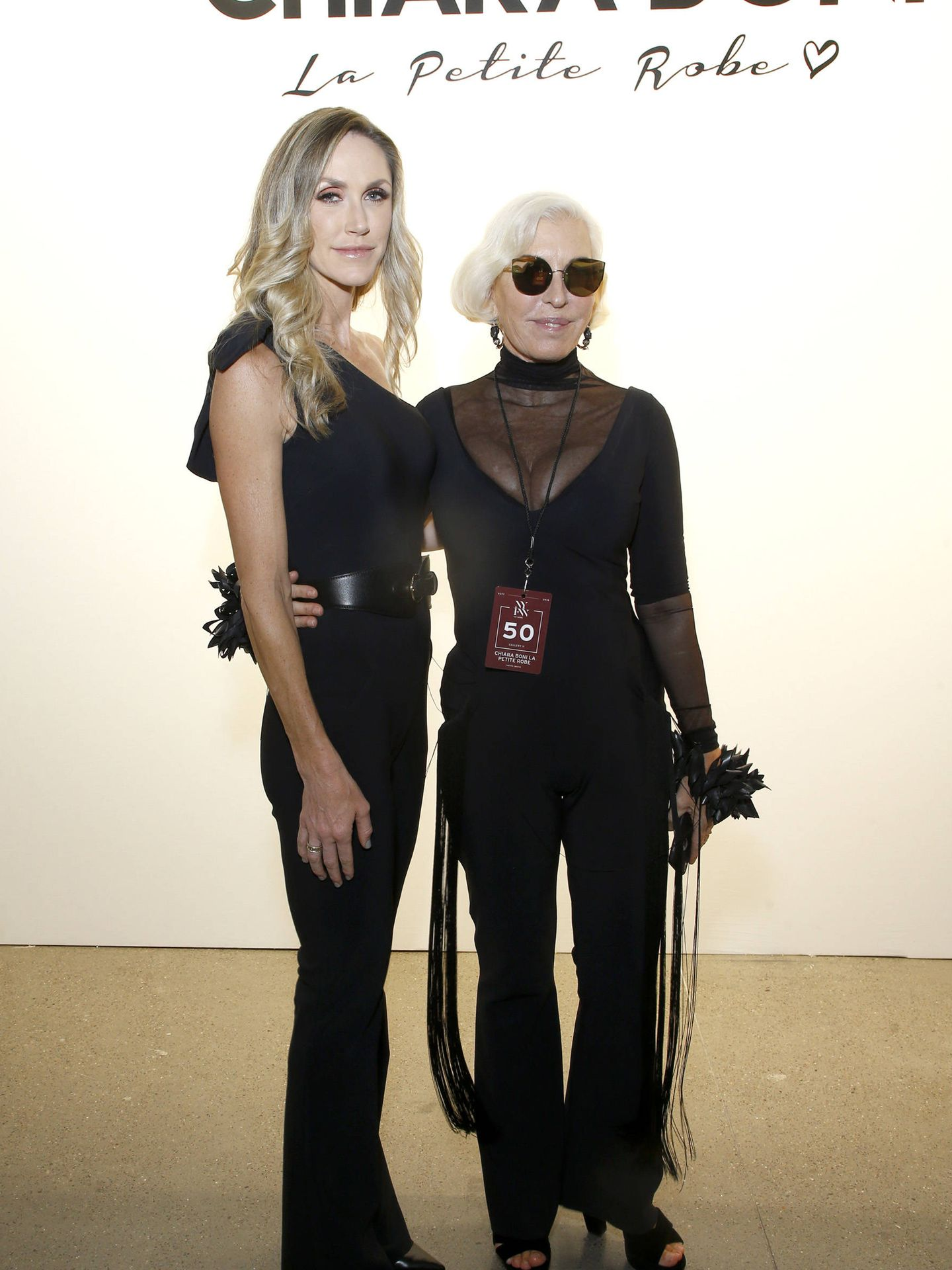 Lara Trump y Chiara Boni. (Getty)