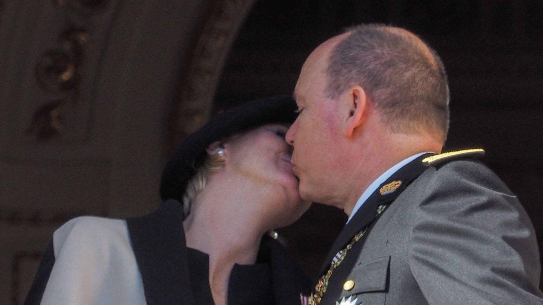 Charlène y Alberto, en 2014. (Cordon Press)