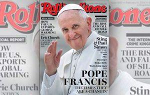 El Papa Francisco da el salto a la portada de 'Rolling Stone' con su revolución suave