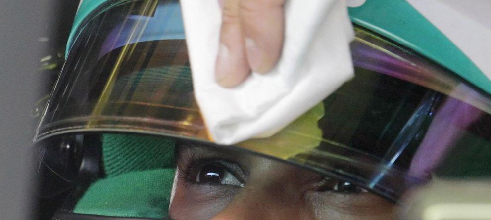 Foto: Lewis Hamilton, este viernes, en el trazado de Spielberg.