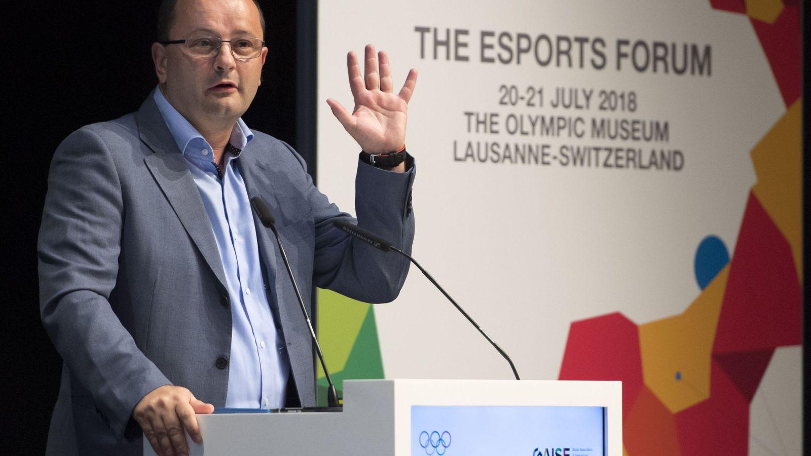 Foto: Patrick Baumann era secretario general de FIBA y miembro del Comité Olímpico Internacional. (EFE)