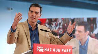 La contracampaña de Sánchez y sus cinco claves