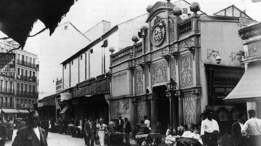 Foto: Una imagen de archivo del Cine Doré en los años 30.