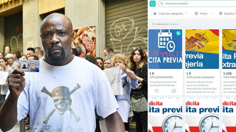 La 'reventa' de citas colapsa Extranjería: Por 180 euros te consigo hora