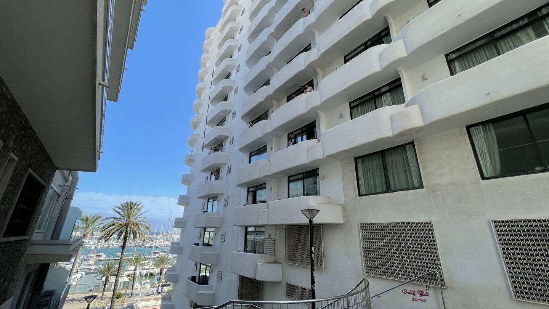 El 'hotel covid' está situado junto al paseo marítimo de Palma. (D.B.)