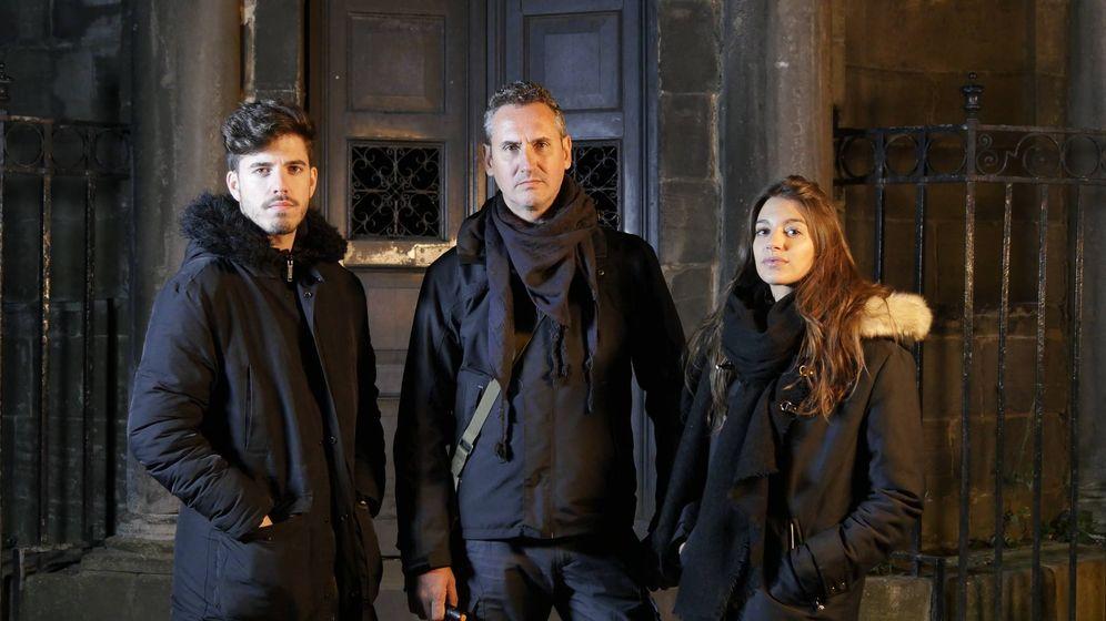 Foto: Roi Méndez, Lorenzo Fernández Bueno y Ana Guerra. (Dmax)