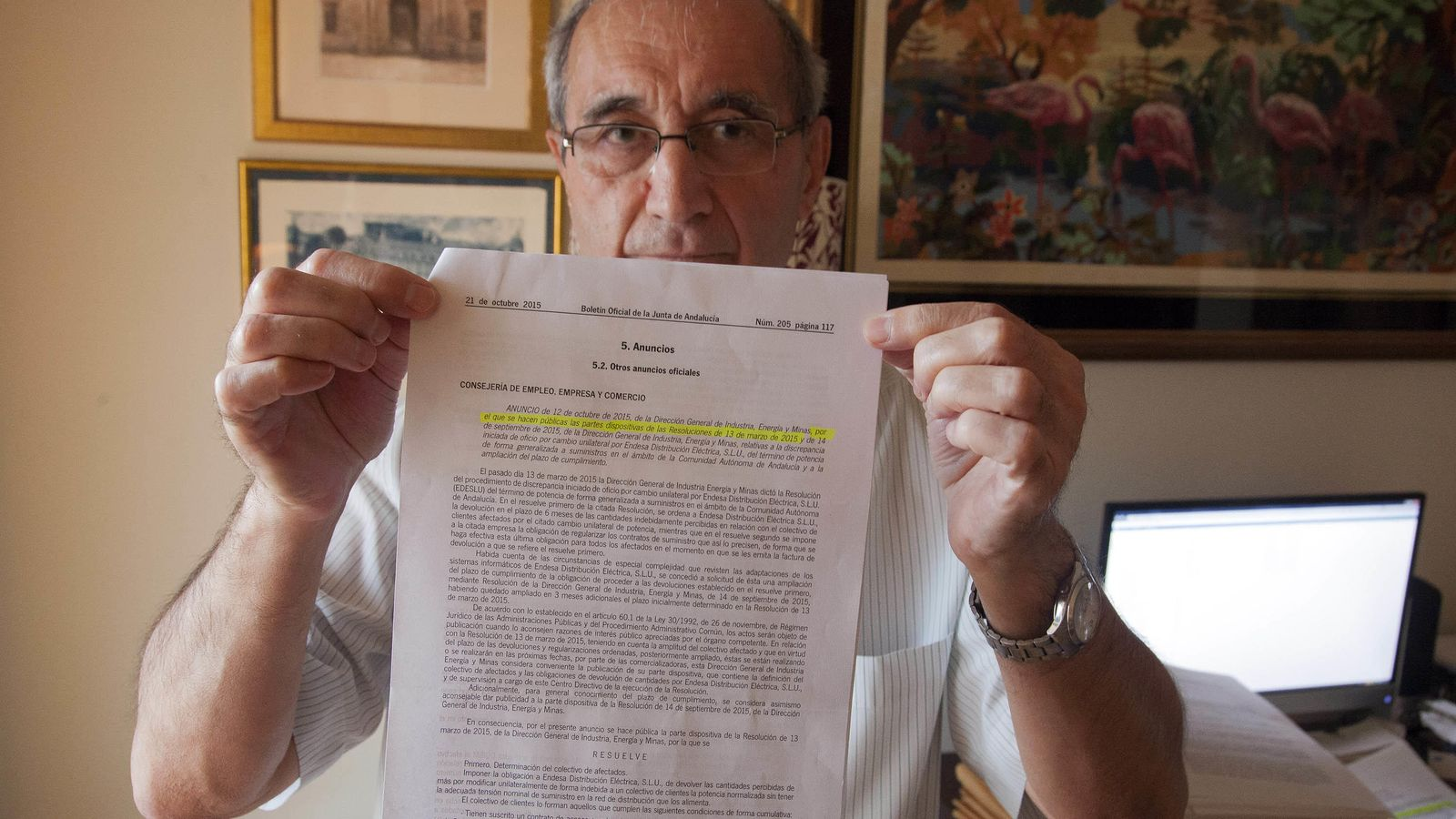 Foto: Antonio Moreno Alfaro, en una imagen de archivo. (Fernando Ruso)