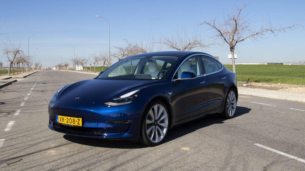 Foto: El nuevo Tesla Model 3 (Foto: Patricia Seijas)