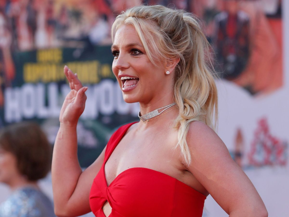 Foto: Britney Spears celebra la compra de su primer iPad a los 39 años. (Reuters)