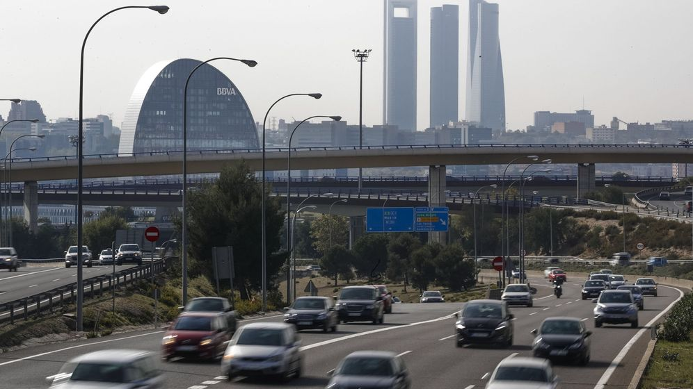 Foto: La alerta por contaminación en Madrid cesó la noche del martes desactivando el protocolo de medidas anticontaminación. (EFE)