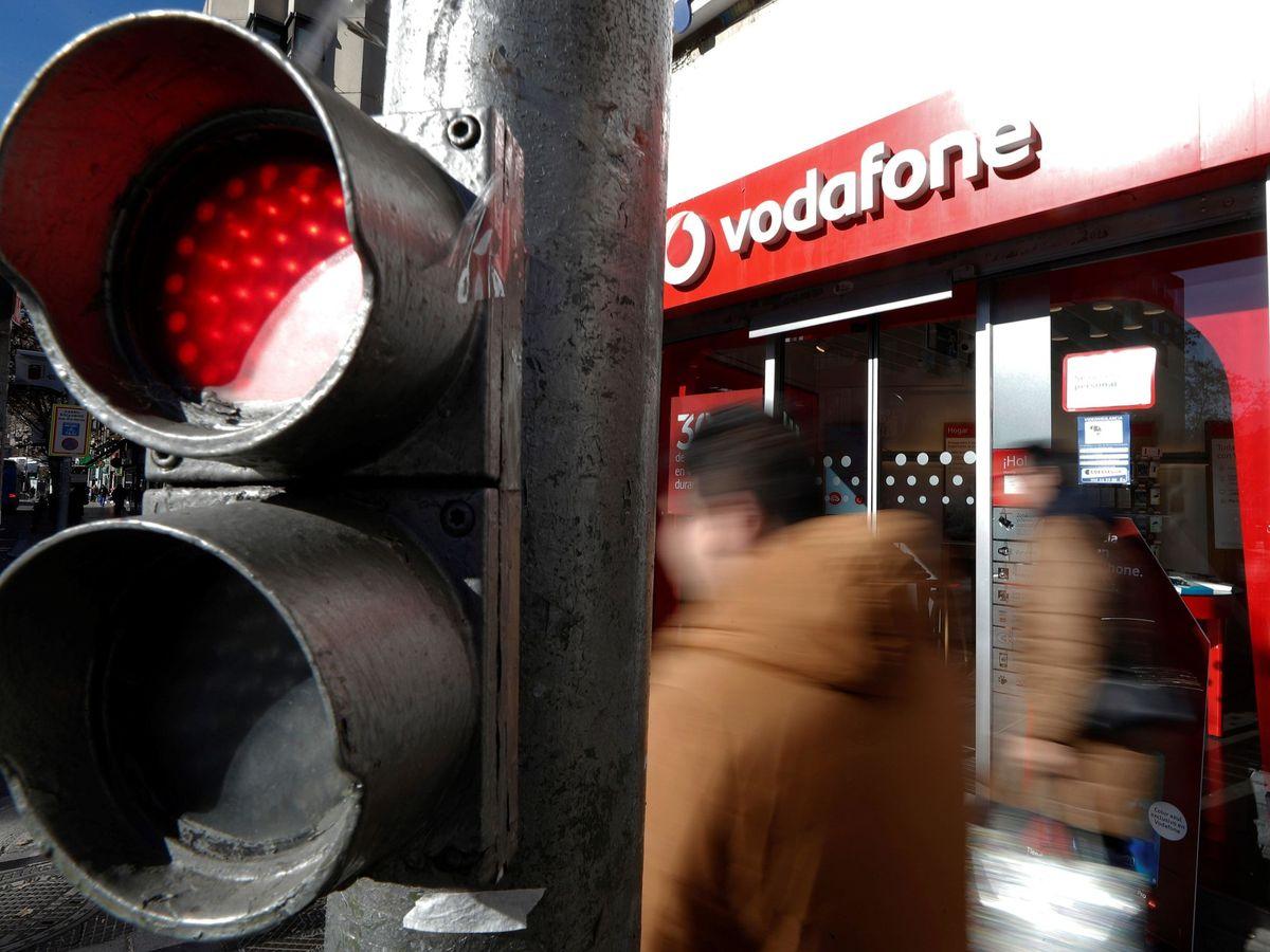 Foto: Tienda Vodafone (Efe)