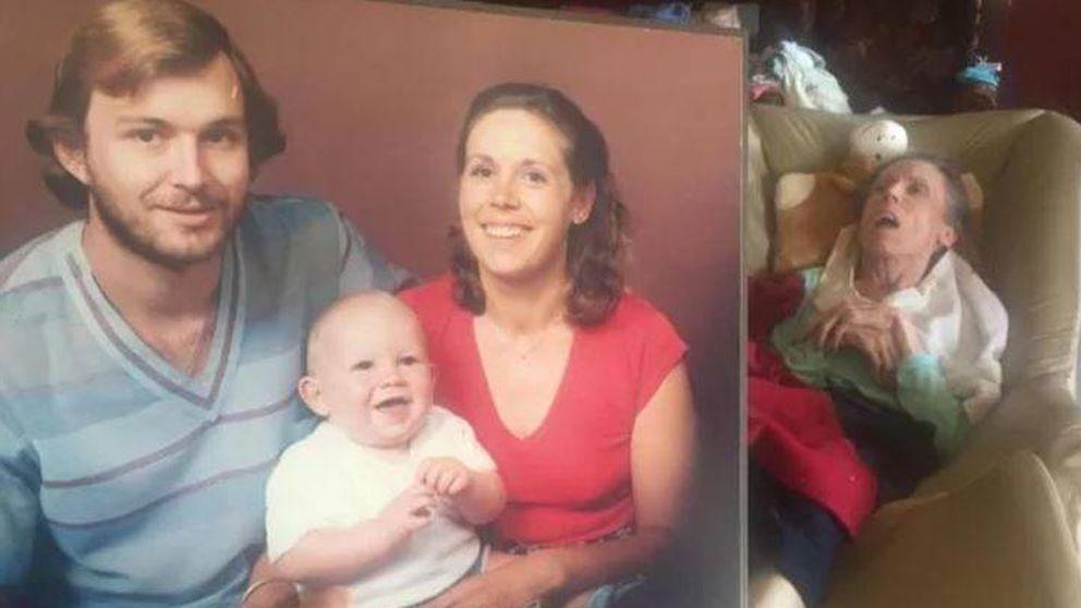 El tributo de un hijo a su padre: Gracias por cuidar así de mamá hasta el final