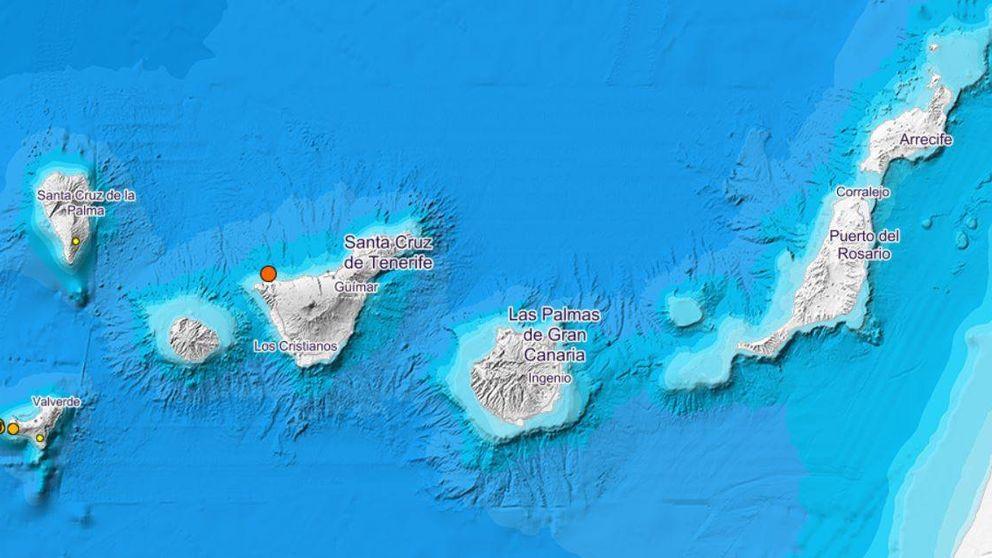Un terremoto de magnitud 4,1 sacude una treintena de localidades de Tenerife