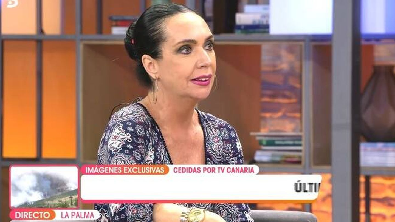 Gaviño hablando de Bigote. (Telecinco).
