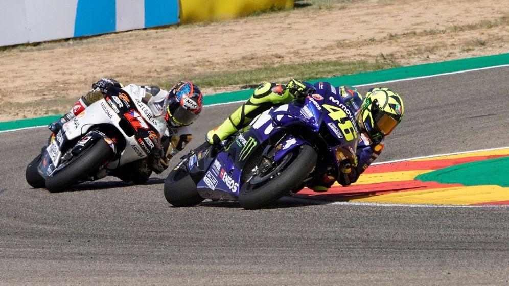 Foto: Valentino Rossi no gana una carrera de MotoGP desde junio de 2017. (EFE)