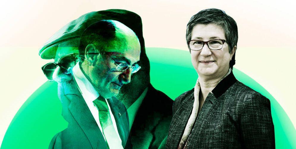 Foto: Montaje con el comisario Villarejo, Sánchez Galán y la presunta víctima del espionaje, Inés Macho Stadler, actual número dos de Iberdrola. (EC)