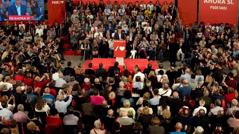 El PSOE recauda 5,05 M € en microcréditos en 13 días, el doble de lo captado para el 28-A
