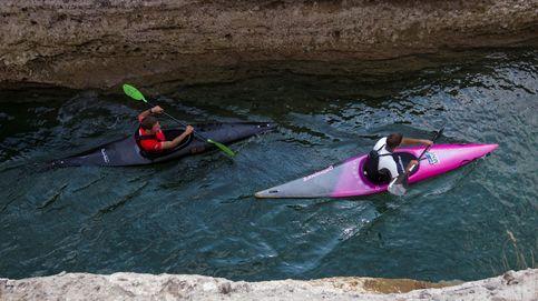 Competición de kayaks en Montenegro
