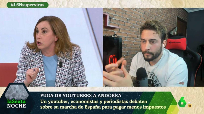 Angélica Rubio, en 'La Sexta noche'. (Atresmedia).