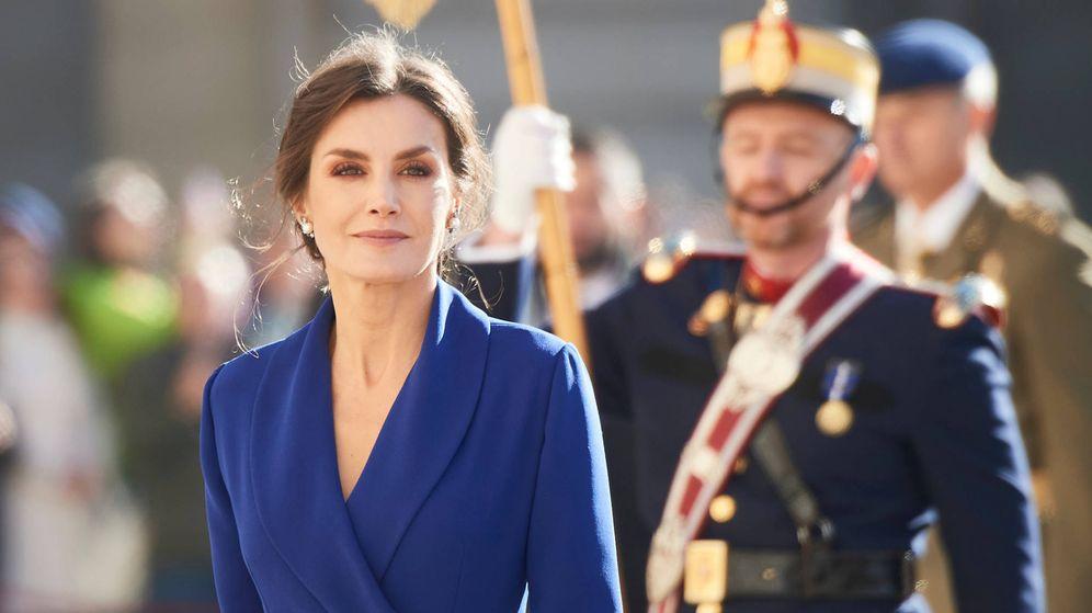Foto: La reina Letizia en la celebración de la Pascua Militar. (LP)