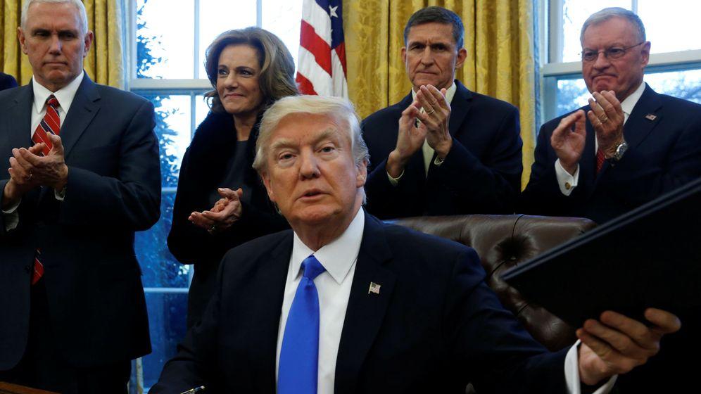 Foto: Donald Trump, en el despacho oval. (Reuters)