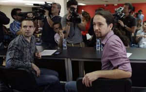 Las corrientes de Podemos se unen para competir contra Pablo Iglesias