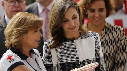 La reina Letizia visita la sede de la Cruz Roja de México